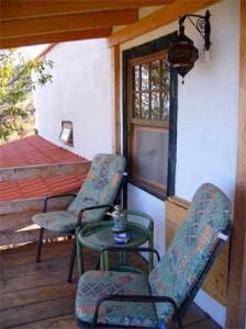 Balkon vom Ferienhaus Casa Linda