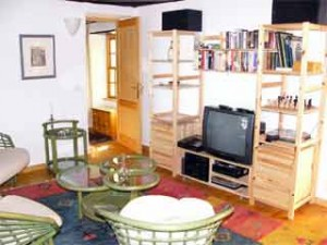 Wohnzimmer Ferienhaus Casa Linda